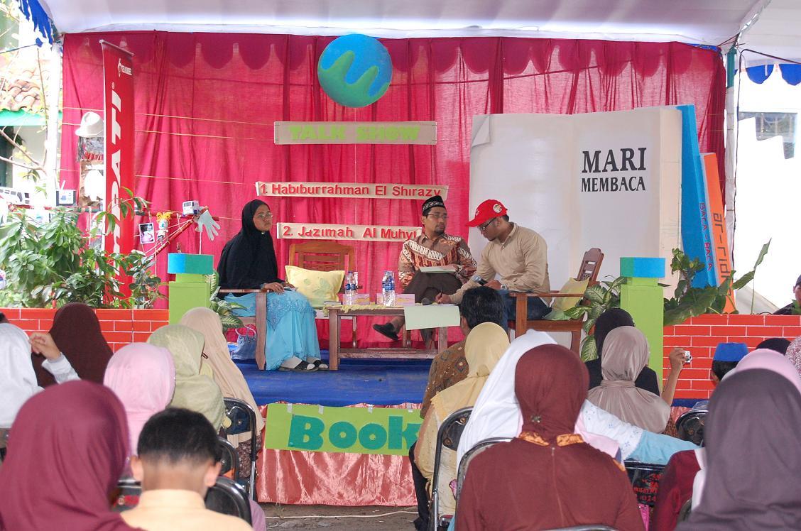 Kang Abik dan Jazimah Al-Muhyi in action